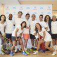 Les personnalitésà la1ère journée du Trophée des Personnalités de Roland-Garros le 6 juin 2017