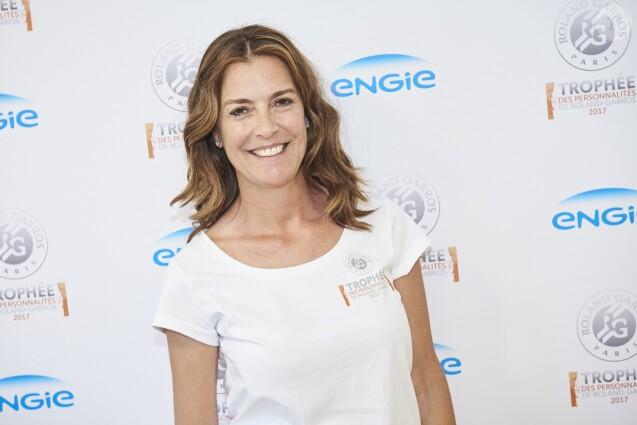 Tara Jarmonà la1ère journée du Trophée des Personnalités de Roland-Garros le 6 juin 2017