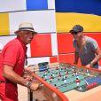 Patrick Partouche et Patrick Bosso - Le groupe Partouche inaugure le premier casino en plein air d'Europe (PLEINAIR Casino) à La Ciotat, France, le 8 juin 2017. © Bruno Bebert/bestimage.