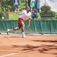 Eddy Murté lors de la dernière journée du Trophée des Personnalités de Roland-Garros le 8 juin 2017.