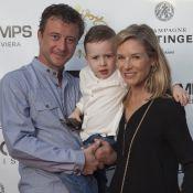 Louise Ekland et son fils Sacha face à Jean-Félix Lalanne, futur papa comblé