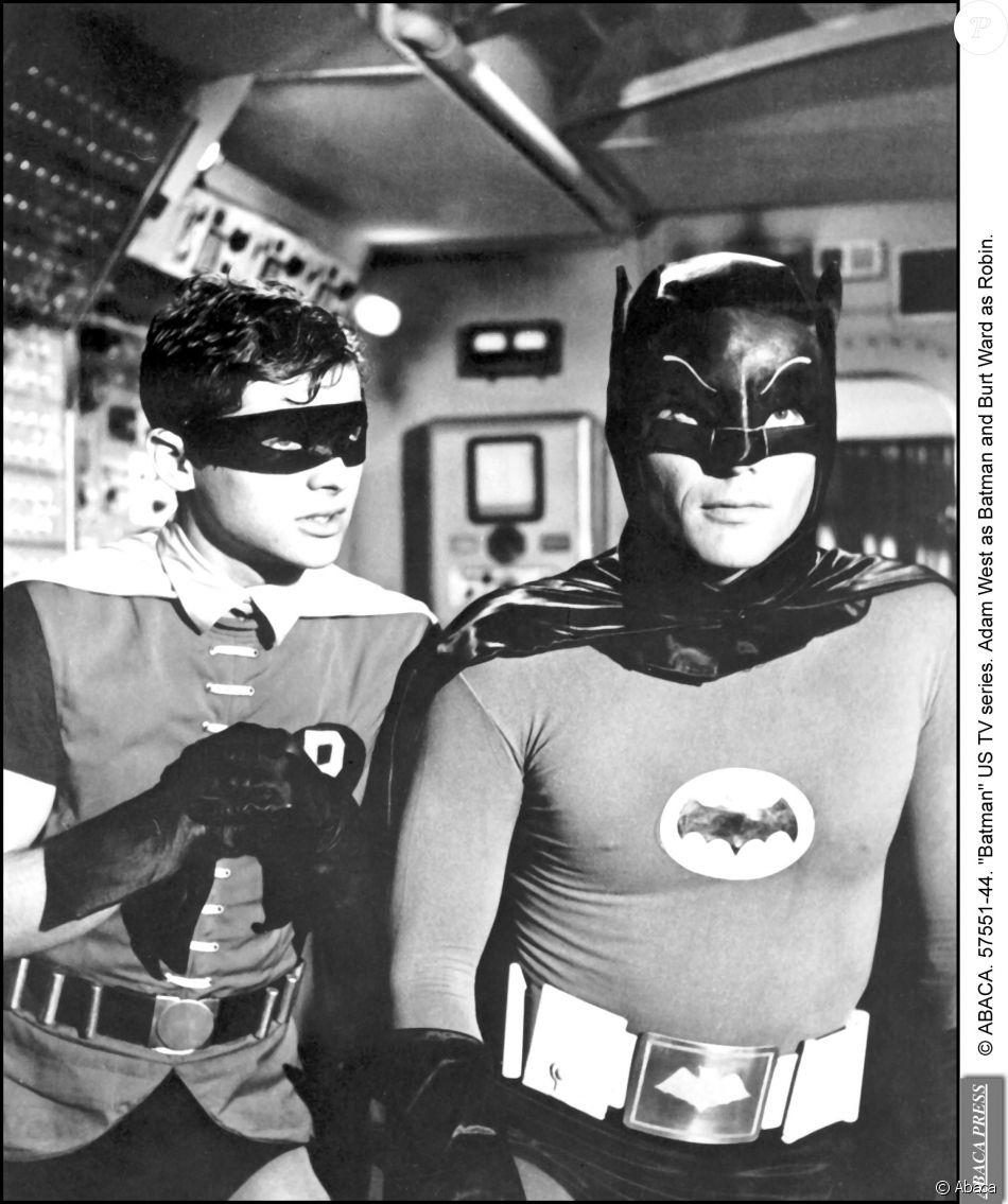 Image de la série Batman avec Adam West et Burt Ward