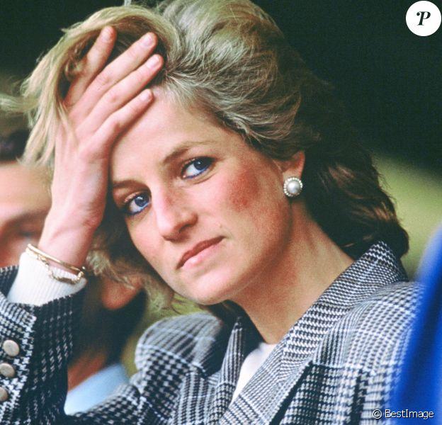 Archives : La Princesse Diana, le 12 septembre 1989
