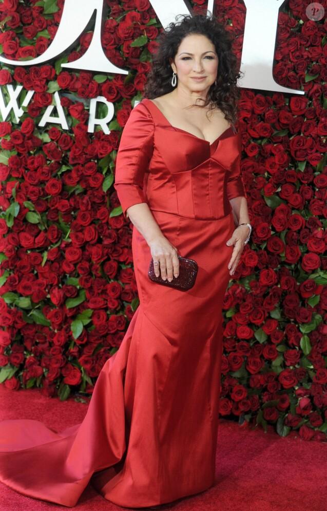 Gloria Estefan à la soirée de la 70ème cérémonie annuelle des Tony Awards au Beacon Theatre à New York, le 12 juin 2016
