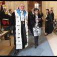 Rachida Dati et Philippe Séguin à la séance solennelle de rentrée de la Cour des Comptes