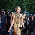 """Tonya Kinzinger arrive au dîner de la 8ème édition du """"Global Gift Gala"""" à Paris, le 16 mai 2017"""