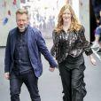"""Justin Thornton et Thea Bregazzi lors du défilé de mode """"Preen by Thornton Bregazzi"""", prêt-à-porter automne-hiver 2017/2018 à Londres. Le 19 février 2017."""