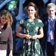 Catherine Middleton, duchesse de Cambridge - Les membres de la famille royale visitent l'exposition florale de Chelsea à Londres. Le 22 mai 2017.