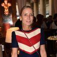 """Exclusif - Paola D' Assche  à la Soirée """"Palm Springs 60's"""" à l'hôtel Prince de Galles pour l'inauguration de son patio d'été à Paris le 15 juin 2017. © Rachid Bellak / Bestimage"""