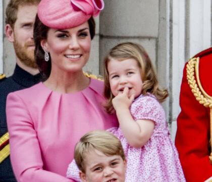 Kate Middleton et Charlotte à croquer pour l'anniversaire d'Elizabeth II