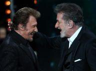 Johnny Hallyday et Eddy Mitchell : Complices, ils improvisent un duo à table