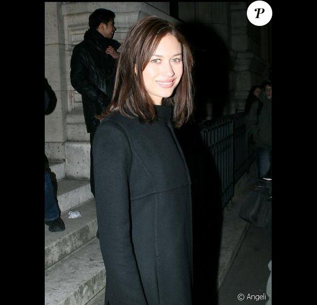 Olga Kurylenko, le top a fait sensation hier au défilé Valentino