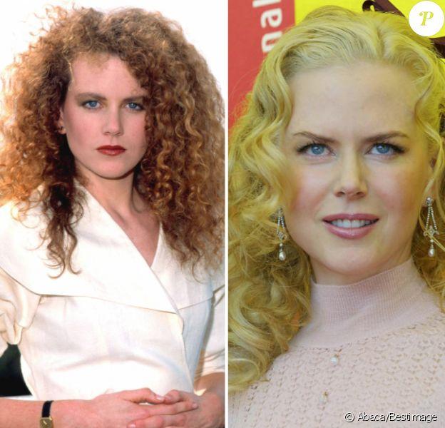Nicole Kidman fête ses 50 ans : son évolution physique de 1989 à 2017.