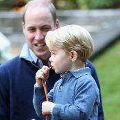 Prince William : Une photo avec le prince George interpelle...