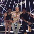 M. Pokora sur le plateau de The Voice. Instagram, juin 2017