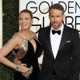 Ryan Reynolds, Blake Lively - 74e cérémonie annuelle des Golden Globe Awards à Beverly Hills, le 8 janvier 2017. © CPA/Bestimag