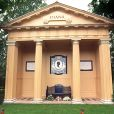Memorial Diana à Althorp, en décembre 2002. © David Jones/PA/ABACA.