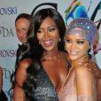 Naomi Campbell et Rihanna à la soirée des CFDA Fashion Awards 2014 à New York, le 2 juin 2014. C