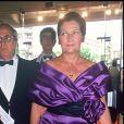 Simone Veil et son mari Antoine au Festival de Cannes, en 1988