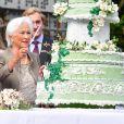 La reine Paola de Belgique fête son 80ème anniversaire avec 74 jours d'avance, à la chapelle musicale reine Elisabeth à Waterloo, entourée de ses enfants, ses petits enfants et d'autres membres de la famille royale. Belgique, Bruxelles, 29 juin 2017.29/06/2017 - Bruxelles