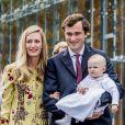 Elisabetta Rosboch avec son mari le prince Amedeo de Belgique et la princesse Anna Astrid - La reine Paola de Belgique fête son 80e anniversaire avec 74 jours d'avance, à la chapelle musicale reine Elisabeth à Waterloo, entourée de ses enfants et petits enfants et autres membres de la famille royale. Belgique, Bruxelles, 29 juin 2017.29/06/2017 - Bruxelles