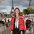 Exclusif - Olivia Palermo - People lors du Longines Paris Eiffel Jumping au Champ de Mars à Paris le 2 juillet 2017. © Olivier Borde / Veeren / Bestimage
