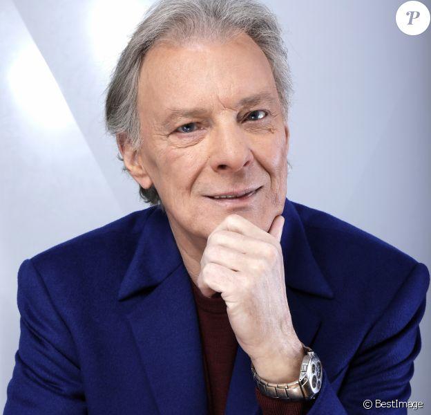 Portrait de Herbert Léonard le 10 février 2016.