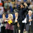 Jennifer Hudson à l'occasion du Superbowl