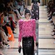 Défilé Giorgio Armani Privé, collection Haute Couture automne-hiver 2017/18 au Palais de Chaillot. Paris, le 4 juillet 2017.