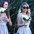 Lauren Conrad au mariage de Maura McManus et David Oehm au Ojai Valley Inn and Spa à Ojai, le 16 août 2014.