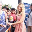 """Lauren Conrad sur le plateau de l'émission """"Extra"""" à Universal City, le 9 juin 2014."""