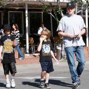 Michael Rapaport se sert de ses enfants pour se faire de la pub !