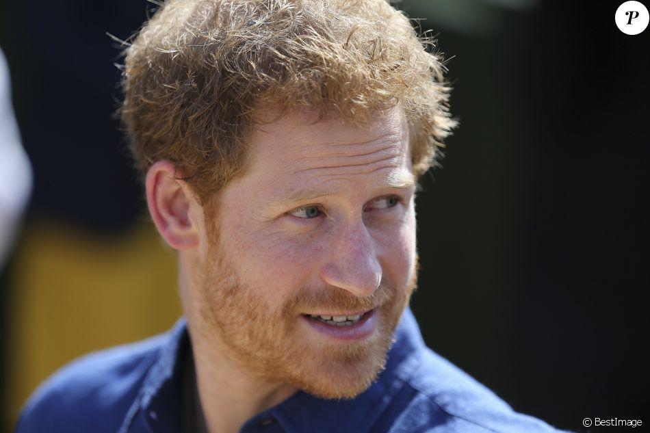 Le prince Harry à Leeds le 7 juillet 2017
