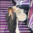 Julien Doré aux Globes de Cristal. 02/02/09