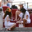 """Défilé Dolce & Gabbana, collection """"Alta Moda"""" (Haute Couture) à Palerme. Le 7 juillet 2017. Photo par Guglielmo Mangiapane/LaPresse/ABACAPRESS.COM"""