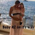 Tatiana Golovin annonce sa deuxième grossesse sur Twitter le 30 juin 2017.