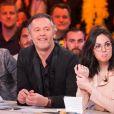 """Exclusif - Jean-Michel Maire et Agathe Auproux - 1000ème de l'émission """"Touche pas à mon poste"""" (TPMP) en prime time sur C8 à Boulogne-Billancourt le 27 avril 2017."""