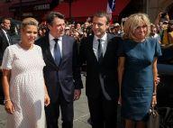 Emmanuel Macron avec son épouse Brigitte : Après Paris, l'hommage à Nice
