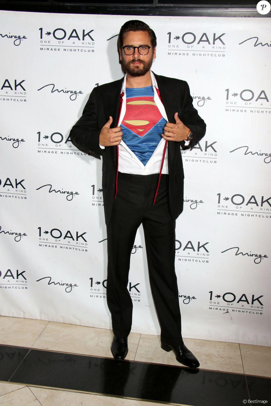 Scott Disick à la soirée d' Halloween au 10ak Nightclub à Las Vegas. Le 29 Octobre 2016 @ CPA / Bestimage