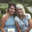 Joanne Beckham avec sa belle-mère le 26 juin 2017