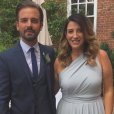 Joanne Beckham avec son compagnon Kris Donnelly le 4 juin 2017
