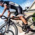 Le coureur cycliste professionnel Paweł Poljański sur le Tour de France 2017, Instagram, juillet 2017.