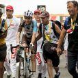 Romain Bardet remporte la 12e étape du Tour de France 2017 entre Pau et Peyragudes, le 13 juillet 2017.
