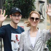 Céline Dion : Complice avec René-Charles, qui s'est (encore) coupé les cheveux !