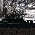 U2 en concert au Stade de France dans le cadre des 30 ans de The Joshua Tree. Le 25 juillet 2017.