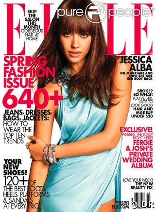 Jessica Alba pour Elle US