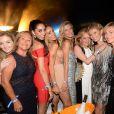 Exclusif - Caroline Scheufele - Soirée de la Summer Party des 50 ans du Byblos et des Caves du Roy à Saint-Tropez le 23 juillet 2017. © Rachid Bellak/Bestimage