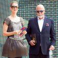 Céline Dion et son époux.