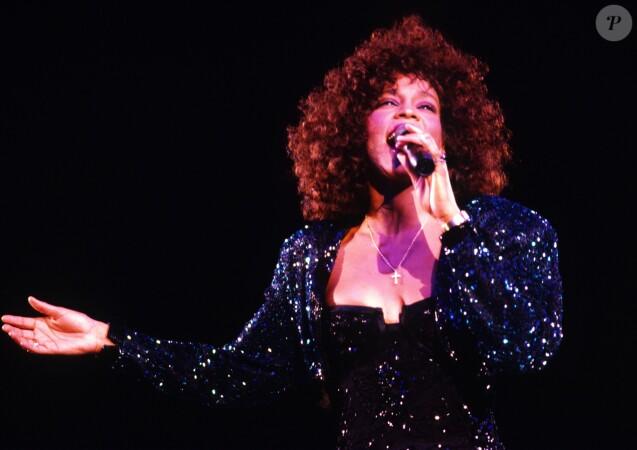 Whitney Houston en 1988.