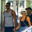 Khloé Kardashian et Tristan Thompson. Le 18 septembre 2016